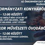 Önkormányzati Konyha tájékoztató