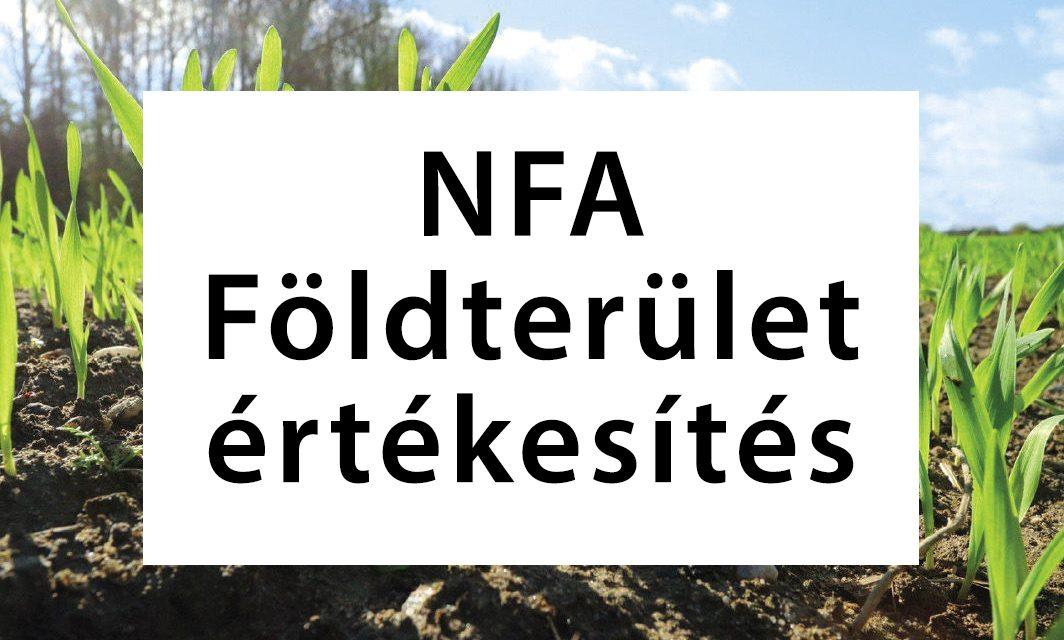NFA földterületek értékesítése