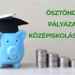 Pályázati kiírás Középiskolások tanulmányi ösztöndíjára